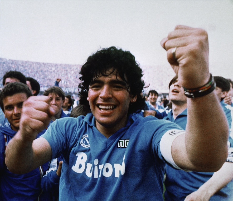 asta maglia maradona napoli 1987 fondazione ferrara cannavaro