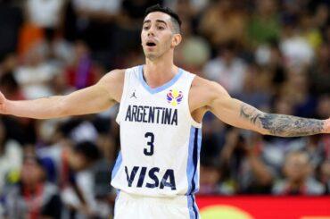 basket luca vildoza argentino new york knicks nba