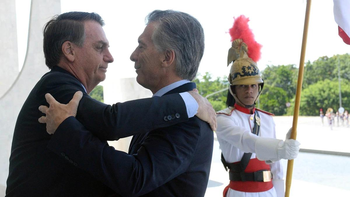 macri bolsonaro incontro brasile