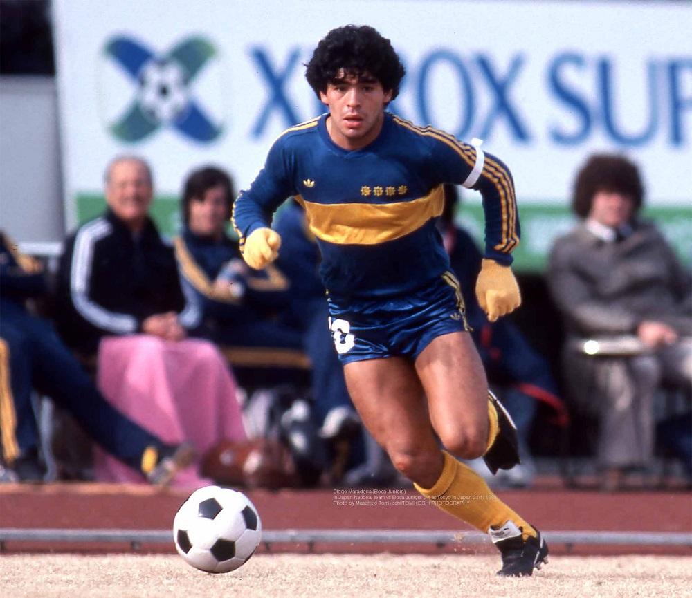 Diego Armando Maradona, meravigliose foto inedite. Dal ...
