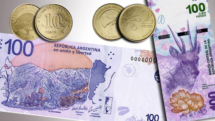 argentina pesos banconota eva perón