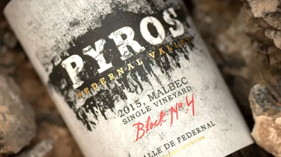 Pyros Single Vineyard Block Nro 4 Malbec 2015 vino argentina