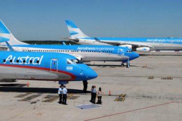 aerolineas argentinas fusione compagnia austral