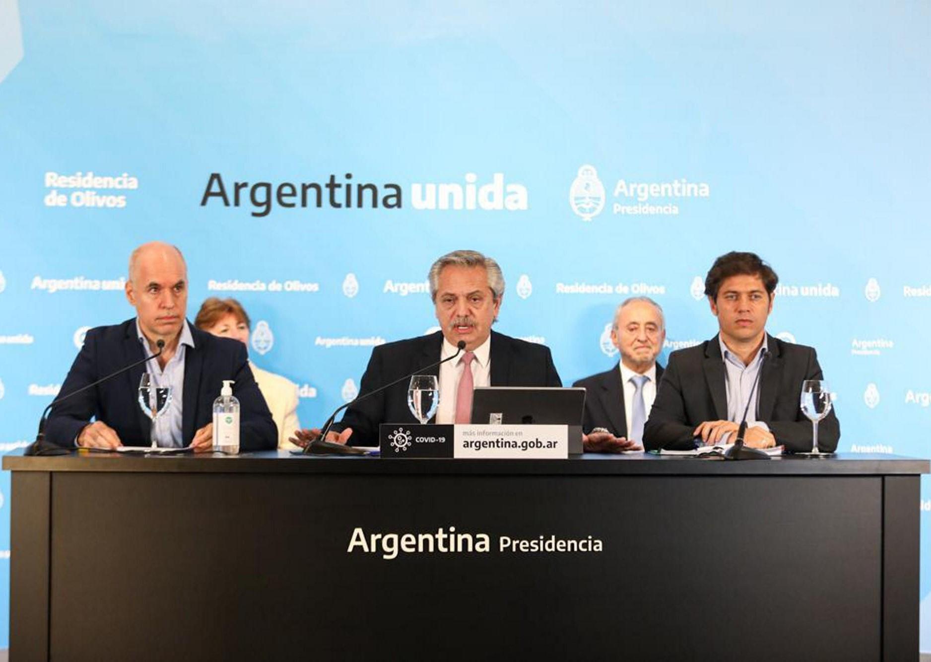 coronavirus argentina ritorno fase uno quarantena buenos aires luglio