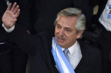 alberto fernandez presidente visita italia merlo