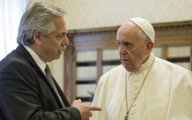 alberto fernandez roma vaticano papa francesco