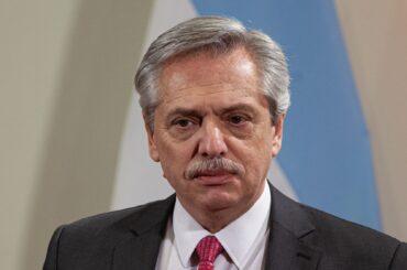 alberto fernández presidente argentina positivo covid coronavirus vaccino