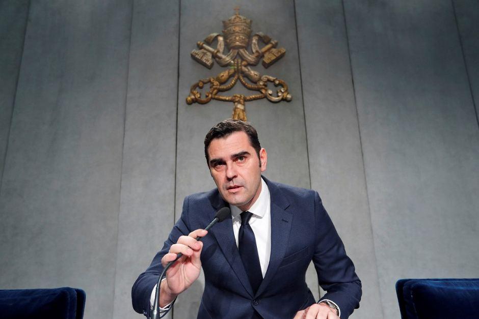 matteo bruni direttore sala stampa vaticana