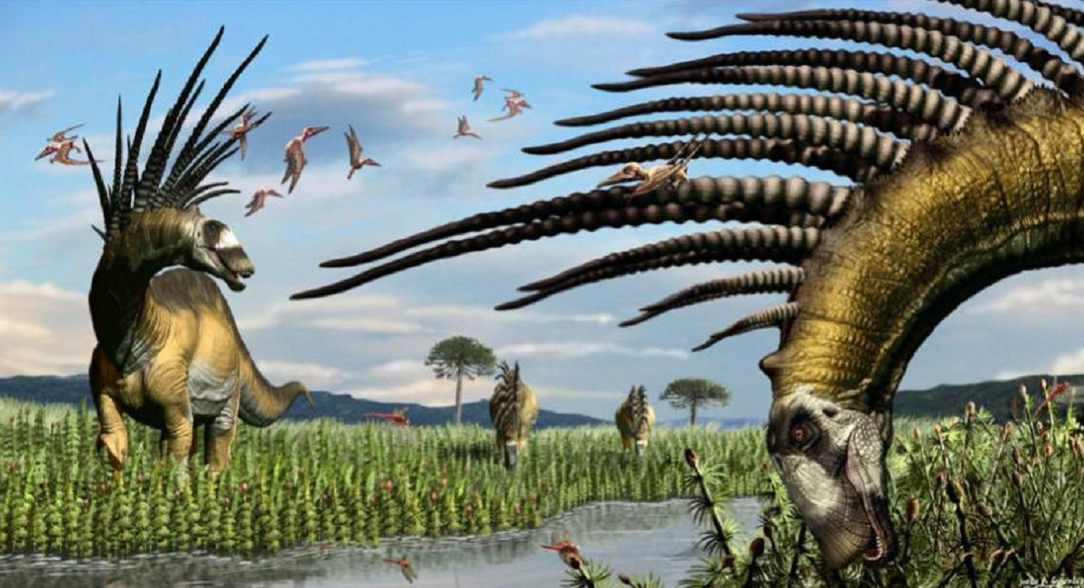 argentina dinosauro Bajadasaurus pronuspinax patagonia
