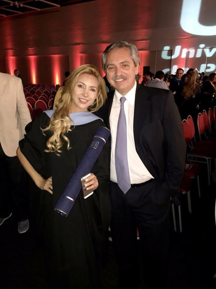 argentina fabiola yánez compagna presidente alberto fernández