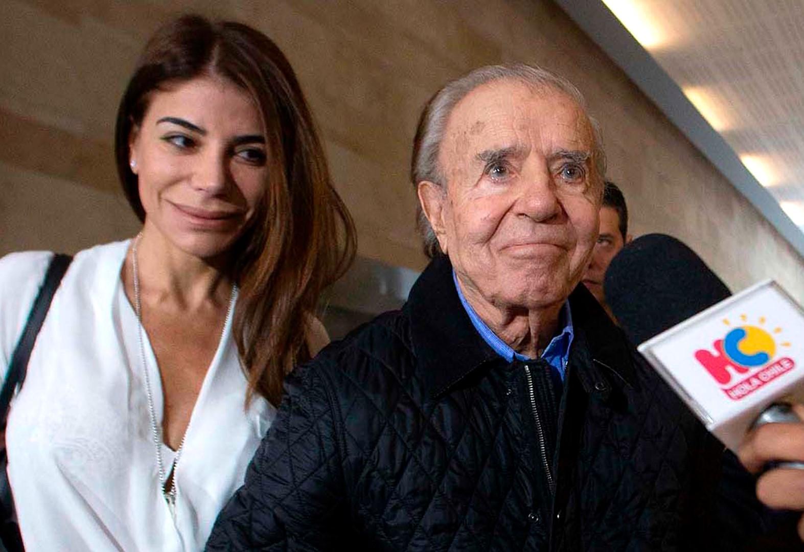 carlos menem presidente argentina gravi condizioni salute coma
