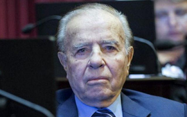 argentina carlos menem ricoverato salute