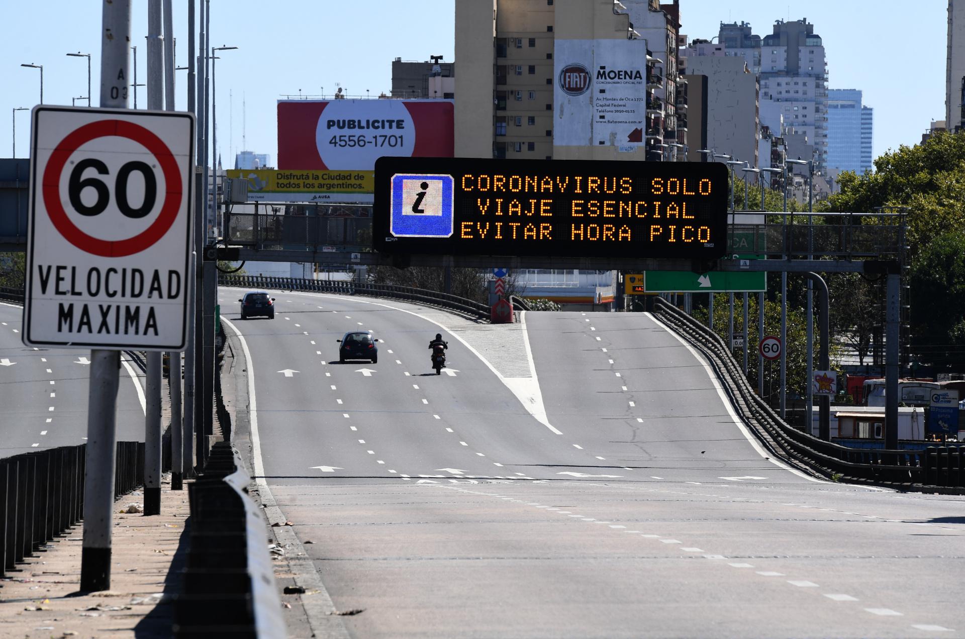 argentina coronavirus crisi economia pil aprile 2020