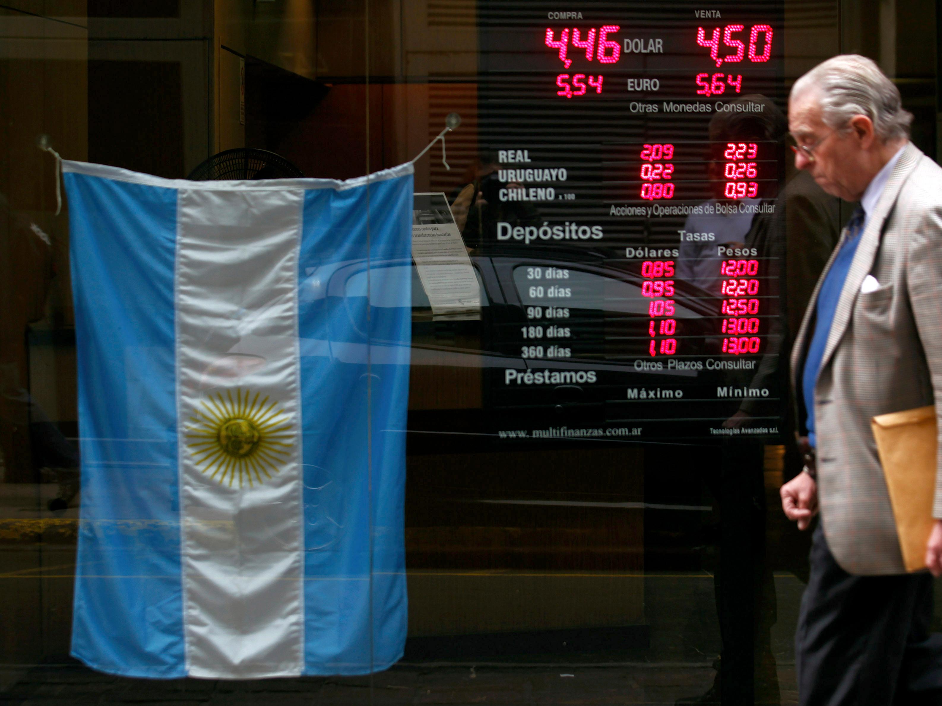crisi argentina contagio