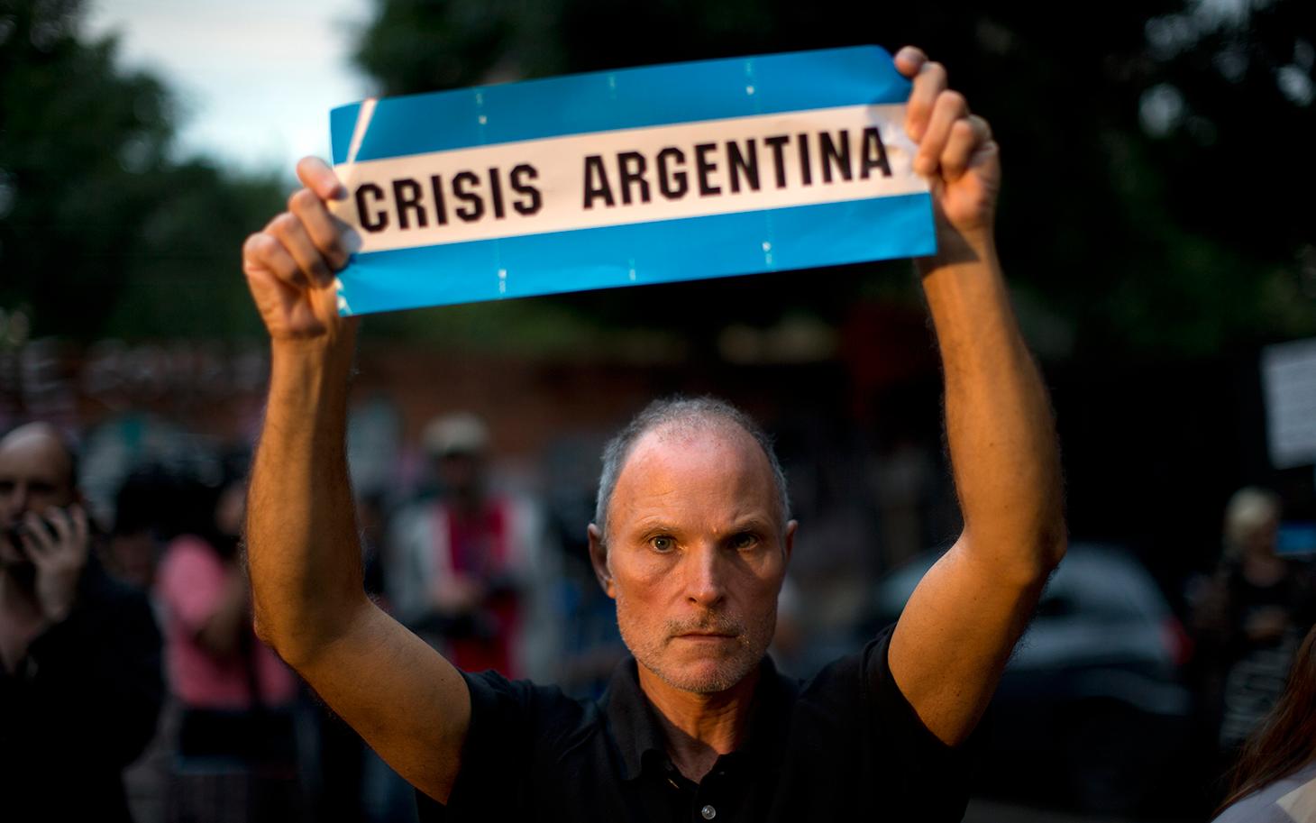 argentina debito default selettivo
