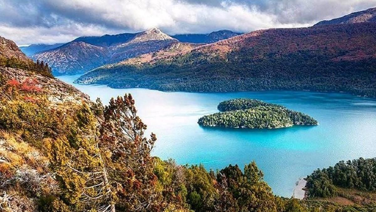 patagonia argentina bariloche lago mascardi isola cuore Piuké Huapí