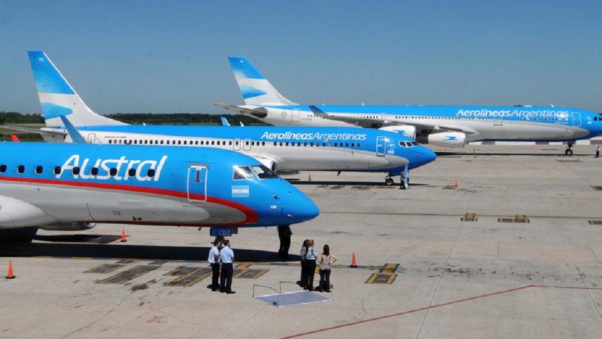 argentina sciopero aerei aerolineas argentinas austral
