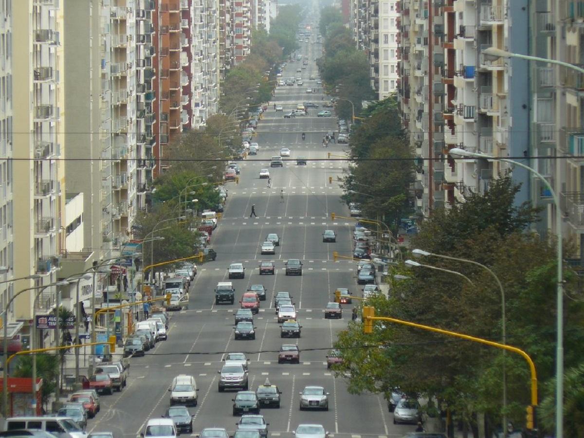argentina mar del plata avenida colon intitolata maradona