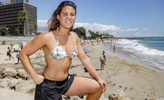 Macarena Cabrujo bagnina argentina bambino senegalese razzismo