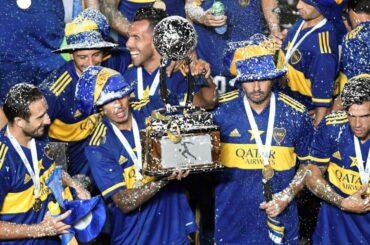 boca juniors copa maradona 70 titoli nazionali carlos tevez
