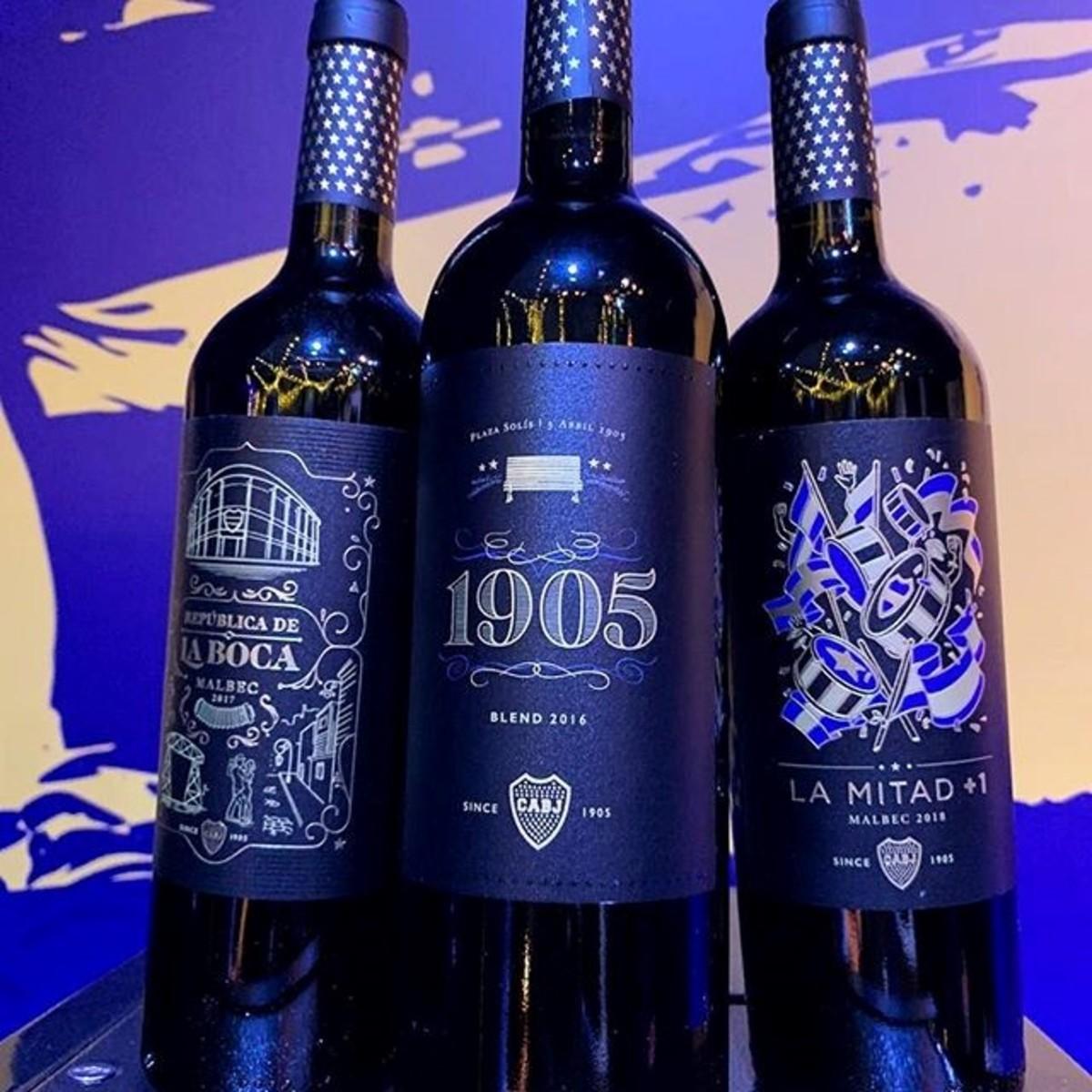 vino boca juniors vino argentino