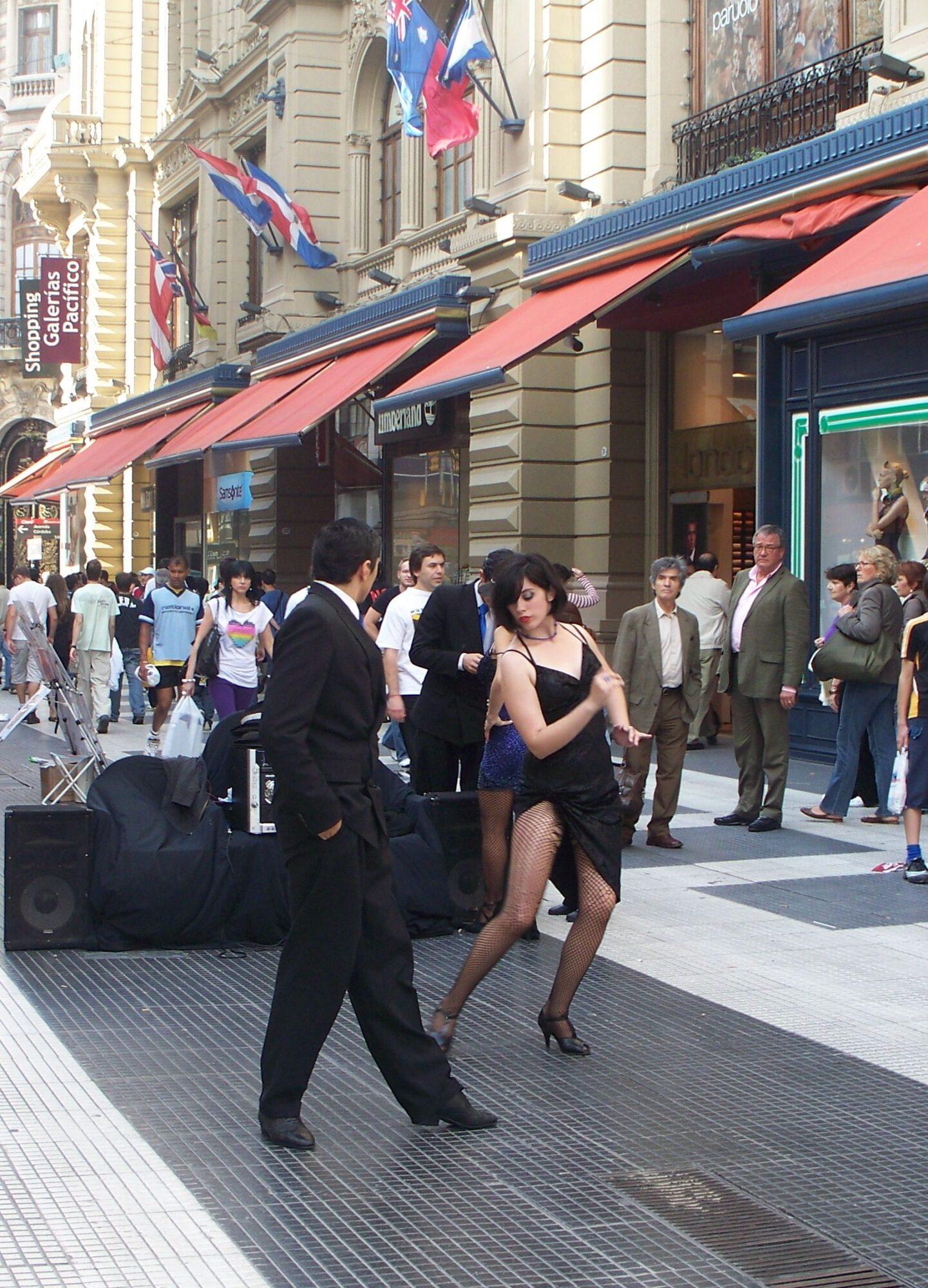 Buenos aires crisi commercio negozi calle florida pandemia