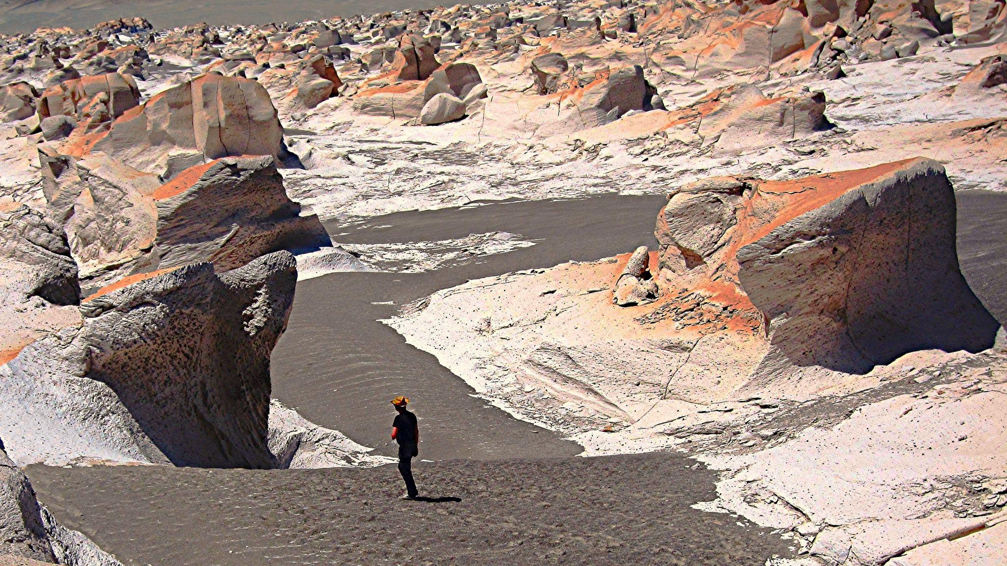 Campo de Piedra Pómez argentina