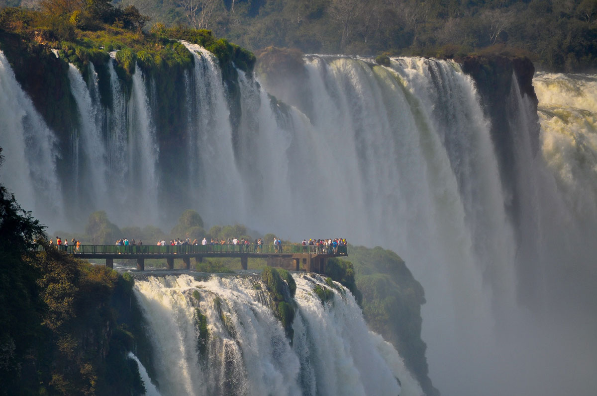 argentina cascate dell'iguazu meraviglie natura mondo