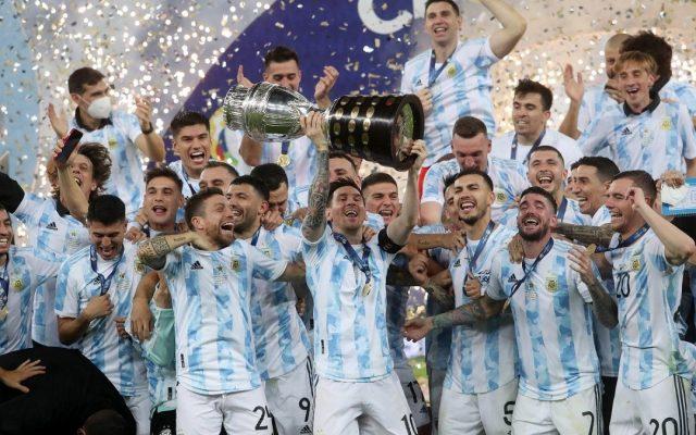 copa america 2021 argentina titoli lionel messi