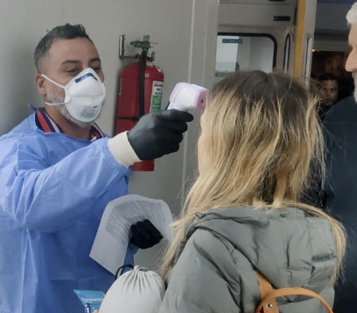 coronavirus covid-19 primo caso argentina buenos aires