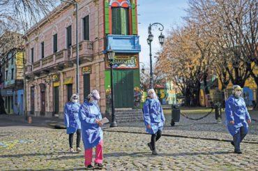 coronavirus in argentina divieto riunioni assembramenti quarantena