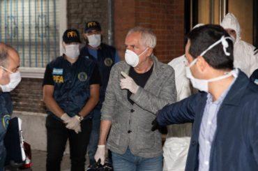 coronavirus argentina buenos aires italiano espulso violata quarantena