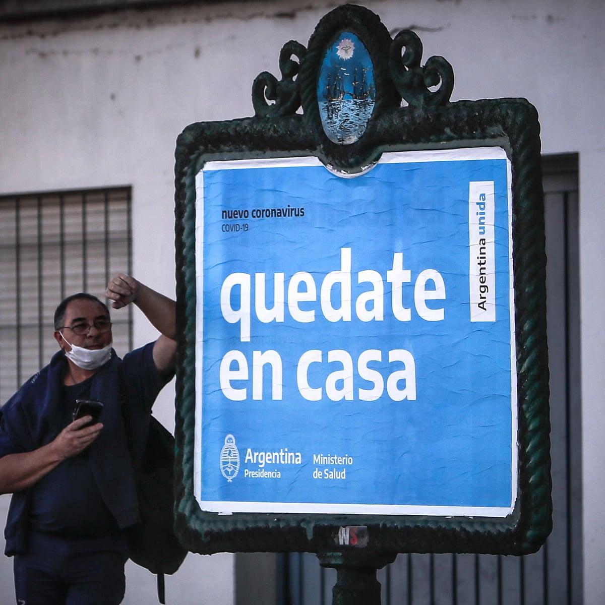 coronavirus argentina misure presidente fernandez