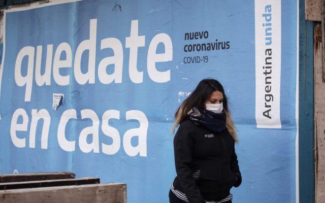 coronavirus in argentina situazione contagi aree critiche