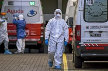 coronavirus argentina sospeso export ossigeno medicinale
