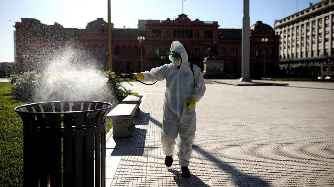 coronavirus in argentina situazione 26 marzo