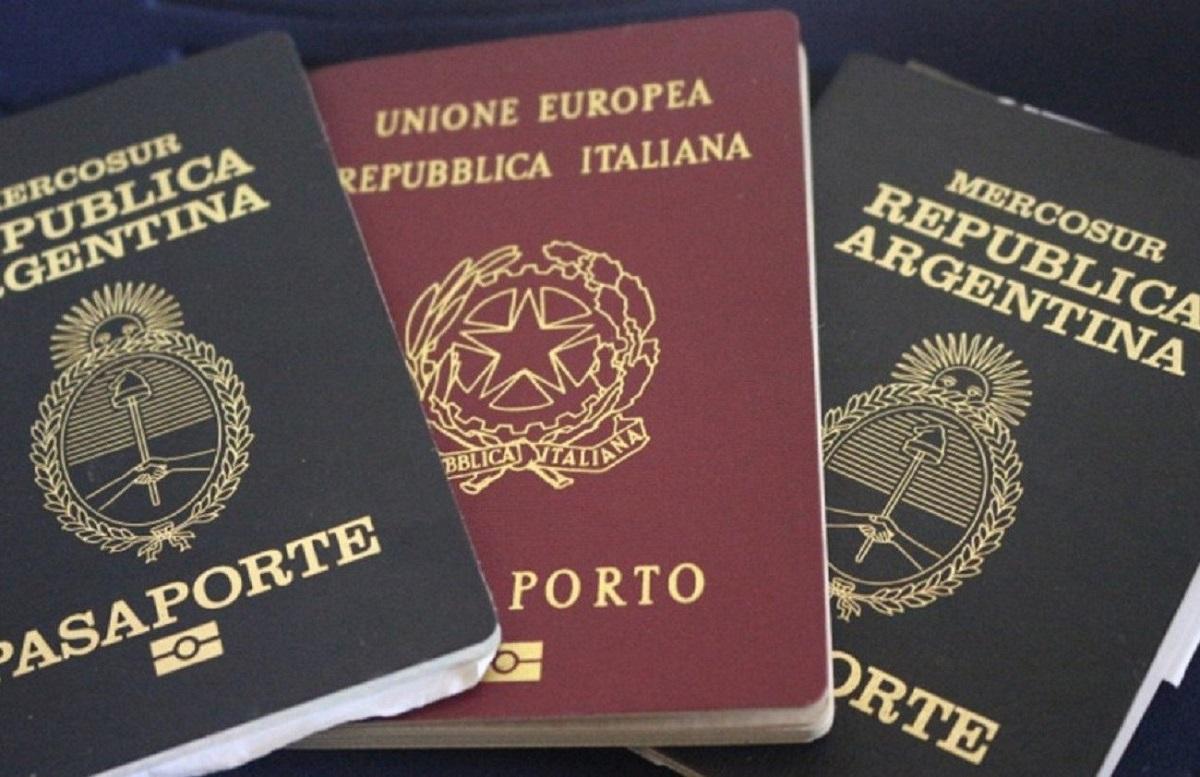 argentina crisi giovani passaporto italiano spagnolo
