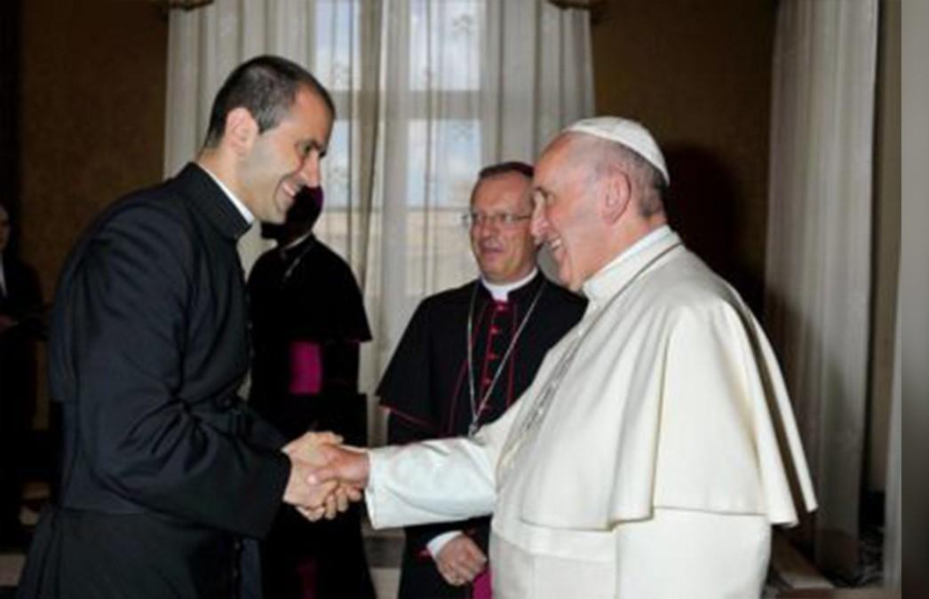 don fabio salerno segretario personale papa francesco