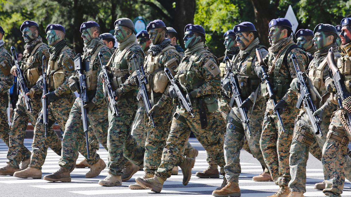 argentina forze armate riservisti