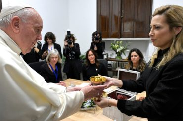 fabiola yáñez italia Scholas Occurrentes papa francesco