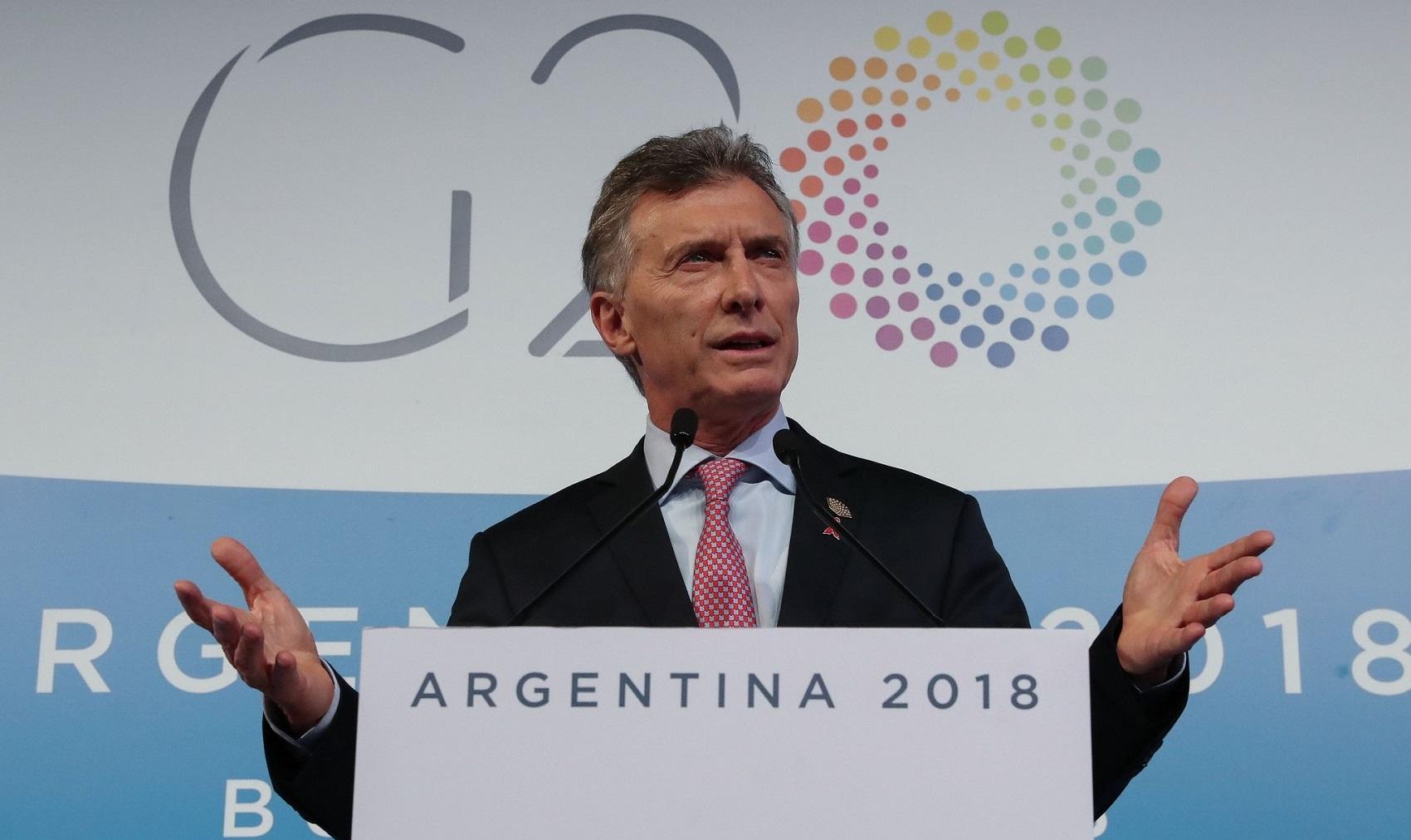 g20 argentina macri bilancio