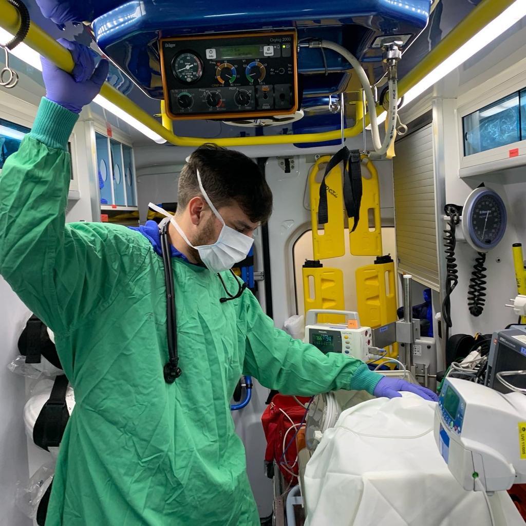 gabriel rivas medico argentino spagna coronavirus