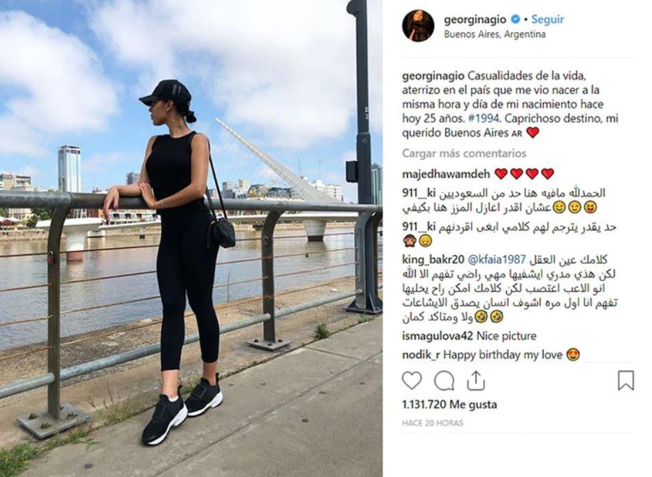 georgina rodríguez età altezza peso misure figlia lavoro quanto guadagna