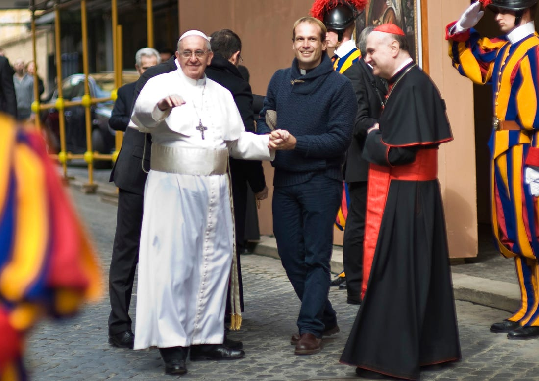 gonzalo aemilius segretario particolare papa francesco