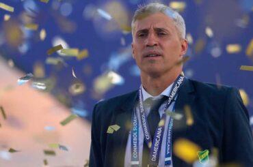 hernán crespo lascia defensa y justicia allenatore cile brasile santos