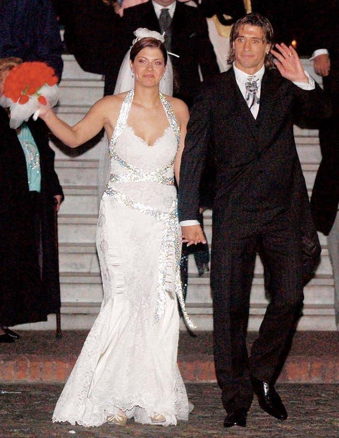 Hernán Crespo separazione moglie alessia andra rossi