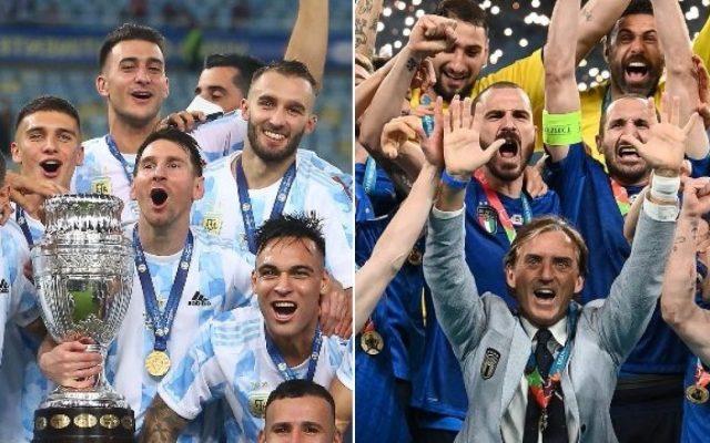 partita italia argentina supercoppa continentale quando si gioca