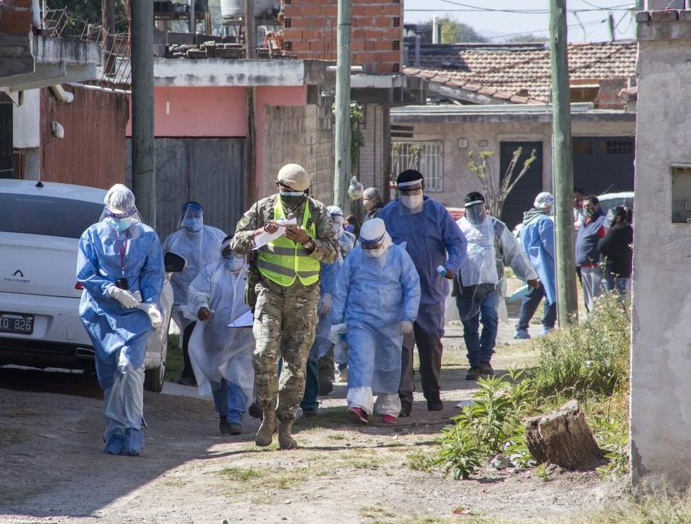 coronavirus in argentina quarantena diffusione contagi province buenos aires