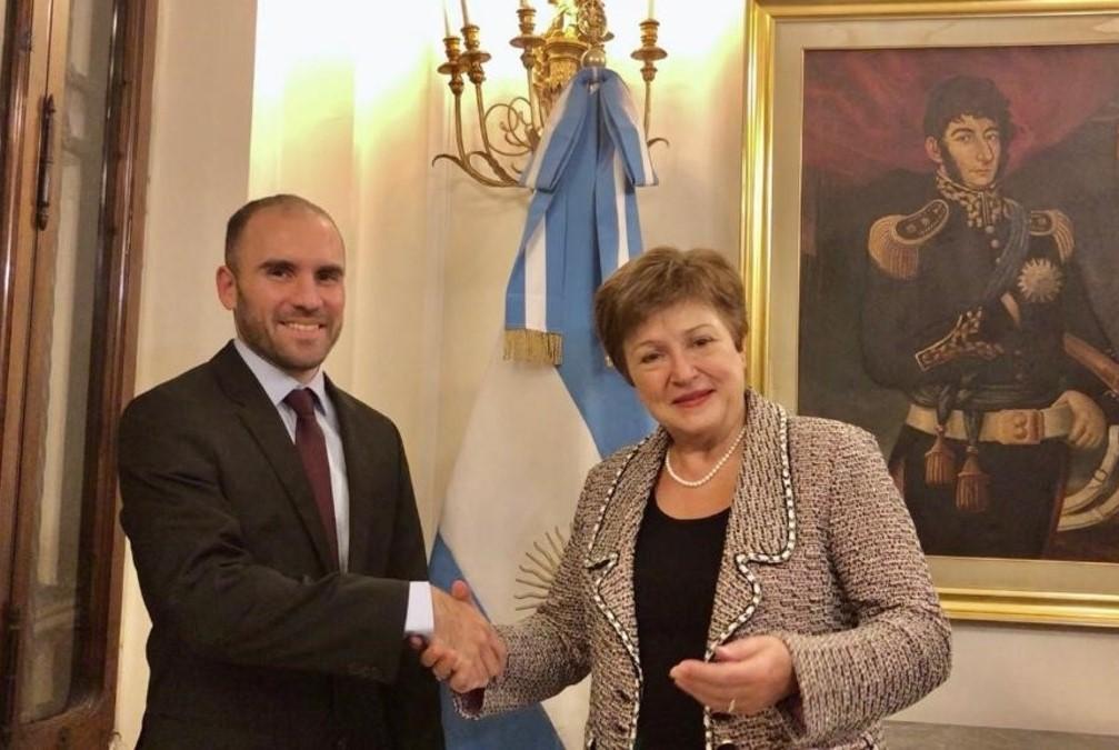 debito argentina fmi georgieva sostegno governo