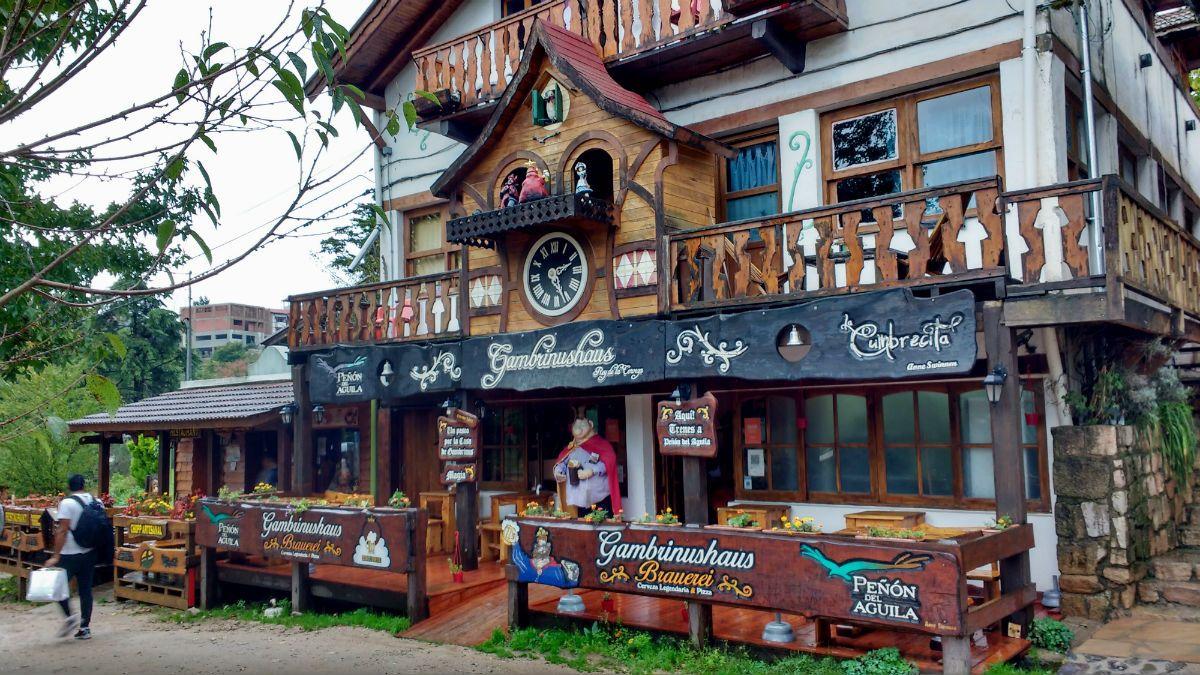 turismo argentina la cumbrecita córdoba paese pedonale natura